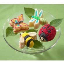 Bird and Bug Cookie Cutters
