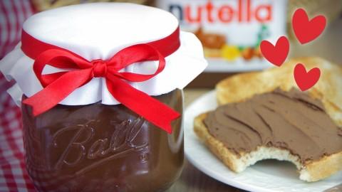 Cómo hacer NUTELLA SÚPER FÁCIL / Dacosta's Bakery