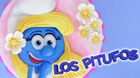 Pastel de Pitufina – LOS PITUFOS / Dacosta's Bakery