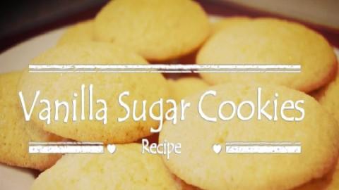 Sugar Cookie Simple and Easy Recipe – Vanilla
