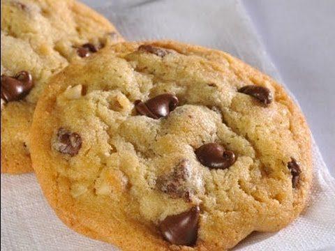 BEST CHOCOLATE CHIP COOKIE RECIPE!