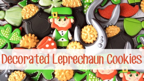 How to Make Decorated Leprechaun Cookies for St. Patrick's Day