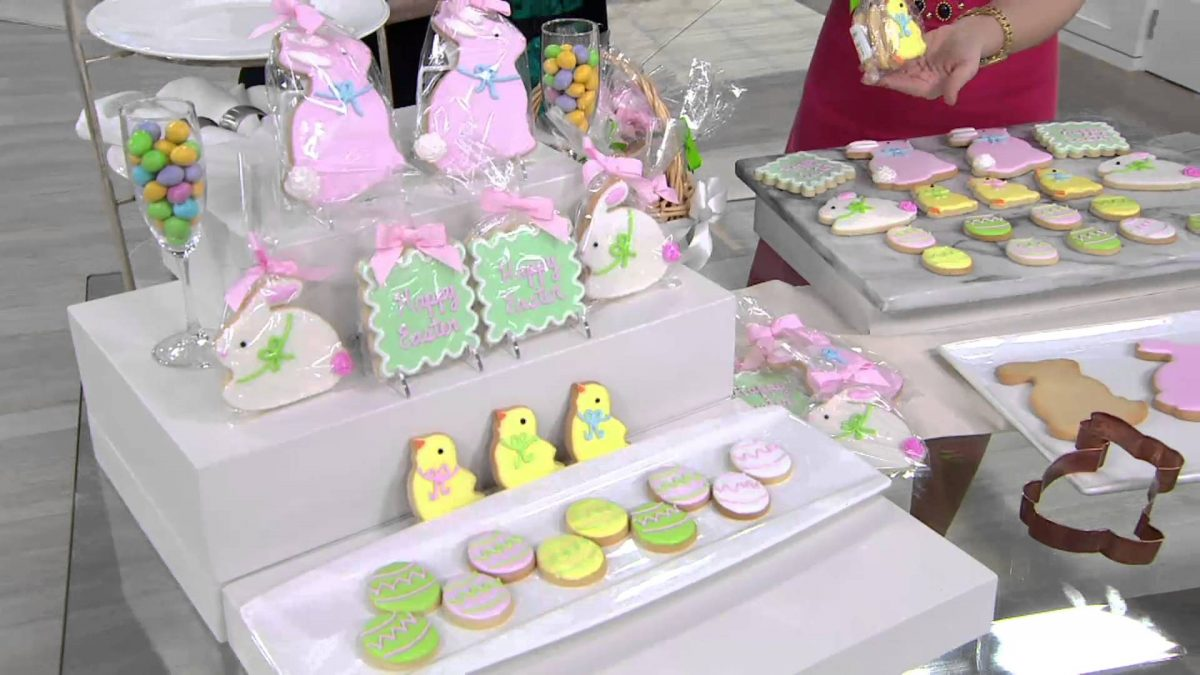 The frosted baker 19 piece decorated easter cookies on qvc bakery the frosted baker 19 piece decorated easter cookies on qvc bakery supply negle Image collections