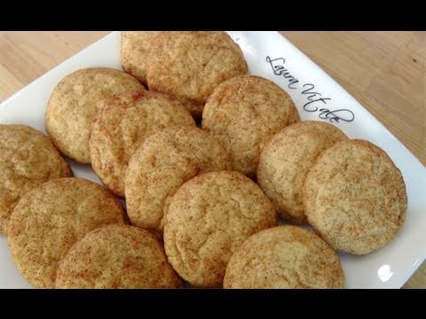 How to Make Snickerdoodles - Cookie Recipe by Laura Vitale Laura in ...