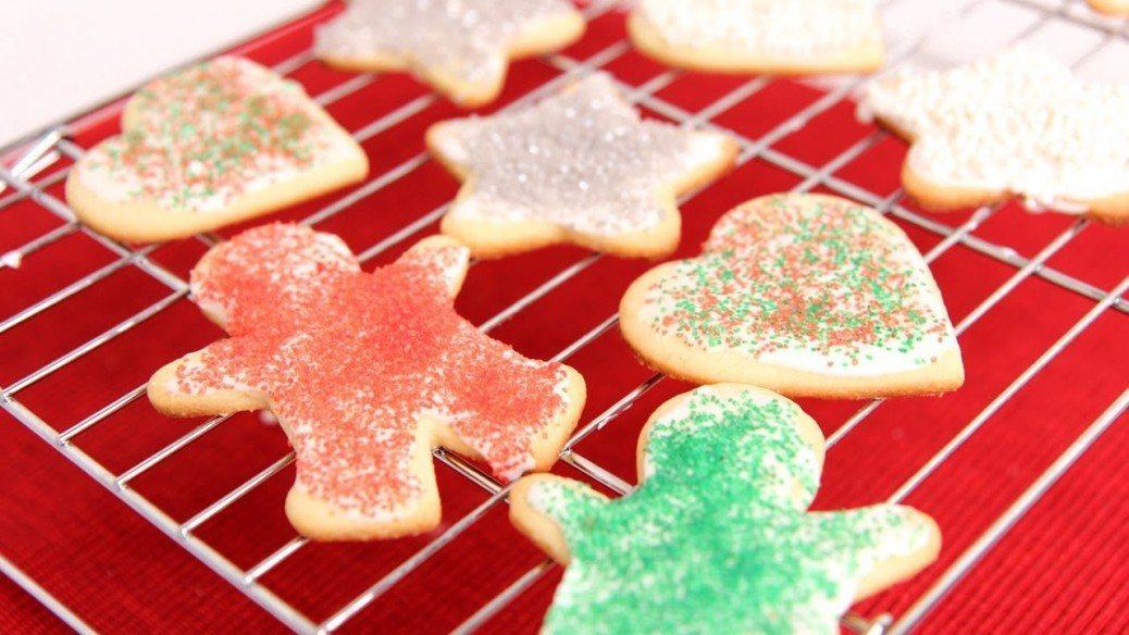 Cutout Sugar Cookie Recipe - Laura Vitale - Laura in the Kitchen ...