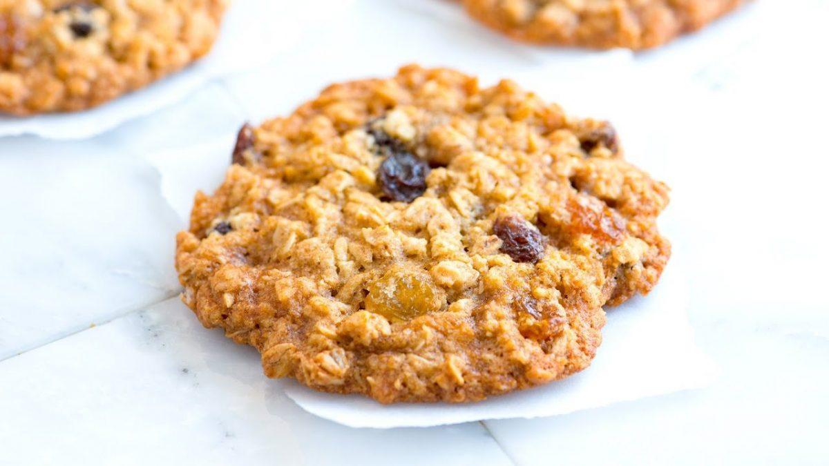 Oatmeal Raisin Cookie Cake Recipe