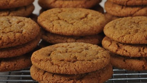 Molasses Cookies Recipe Demonstration – Joyofbaking.com